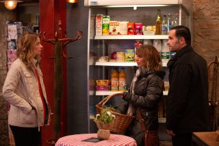 Charity Dingle is furious in Emmerdale