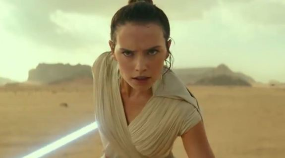 First Star Wars The Rise Of Skywalker Trailer Space