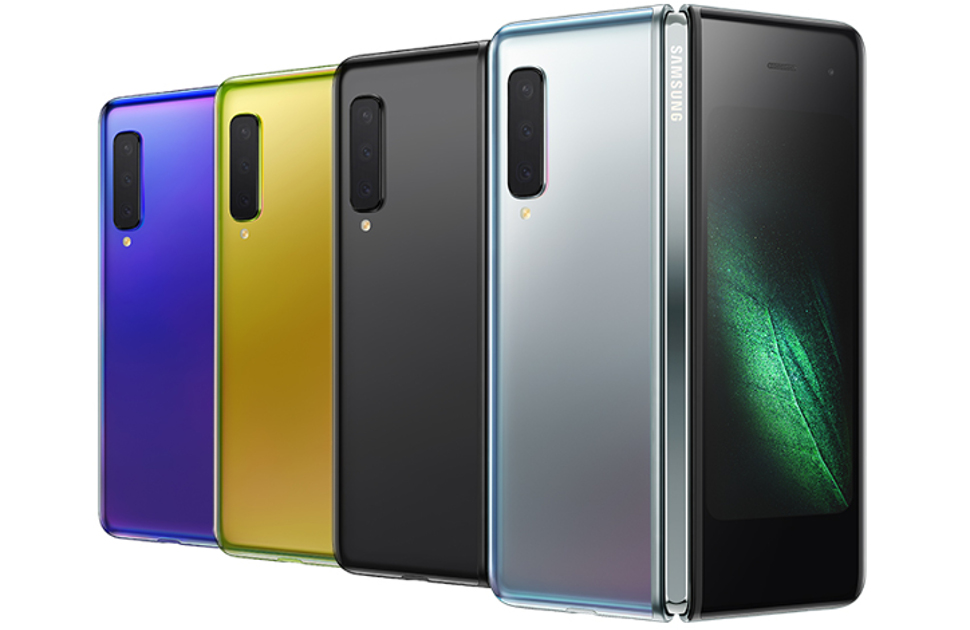 Samsung unveils folding smartphone alongside new Galaxy S10 devices