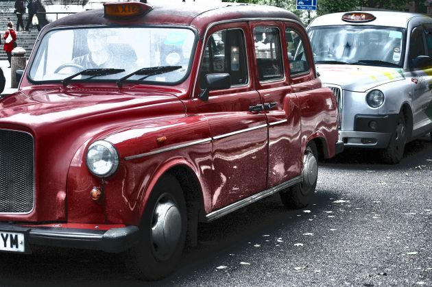 London taxis Photo: [Duncan] / CC BY 2.0