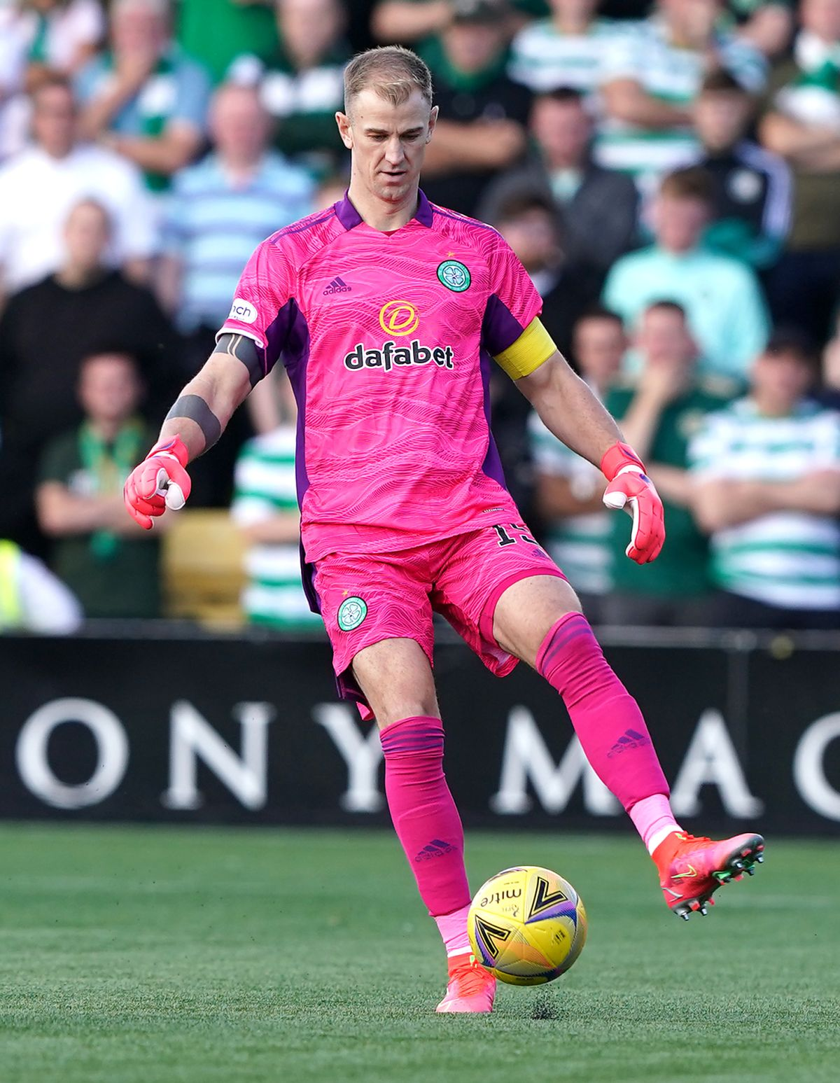 Joe Hart says Celtic players failed to deliver performance fitting of their fans