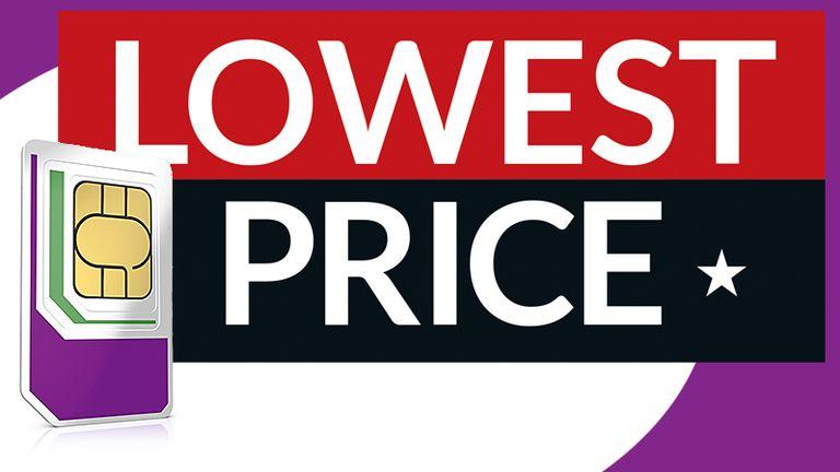 Three UK Sim-Only Deal Price