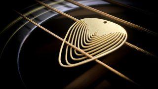 Aminimal guitar pick