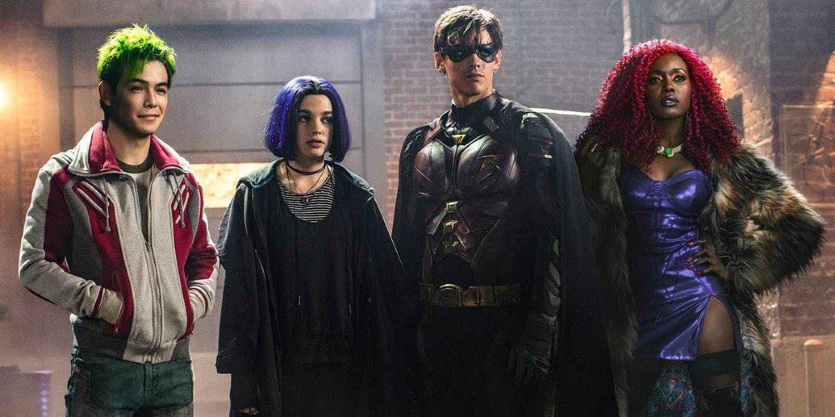 The Teen Titans in Titans