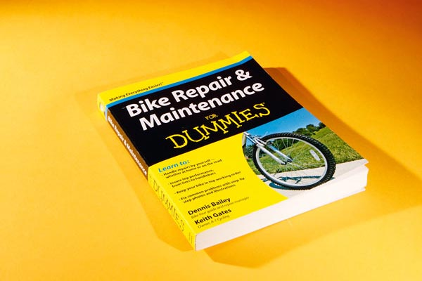 Bicycle Repair for Dummies, bicycle maintenance books