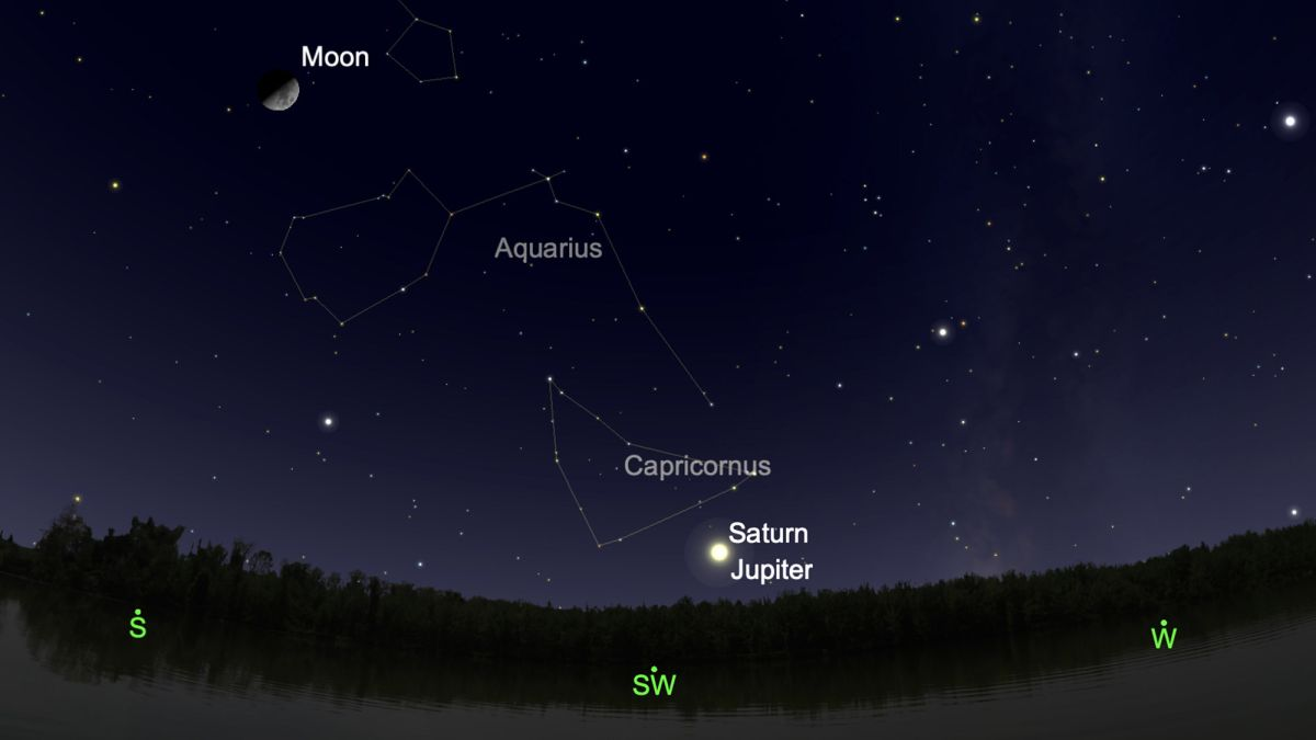 Get ready for the 'Great Conjunction' of Jupiter and Saturn