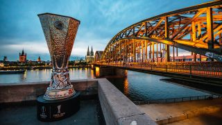 The Europa League Trophy will go to either Sevilla or Inter today.