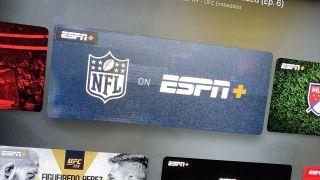 ESPN Plus with NFL