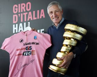 Francesco Moser inducted to the Giro d'Italia hall of fame