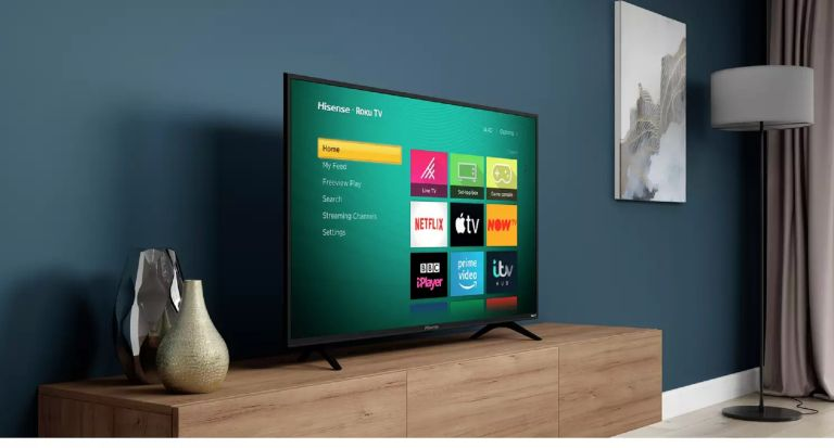 TV deal of the week - Hisense TV - Hisense Roku TV 50 Inch R50B7120UK 4K Smart LED TV with HDR - Real Homes