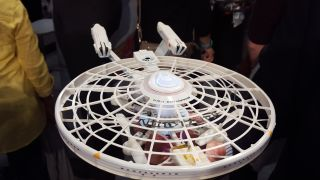 "Spin Master's ""Star Trek"" Enterprise Drone"
