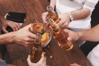 alcohol, drinking, cheers, beer