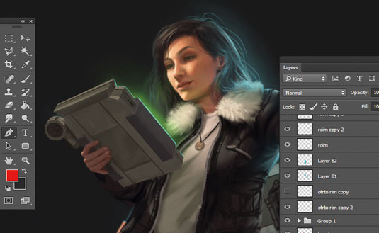 Photoshop tutorials: how to use layers