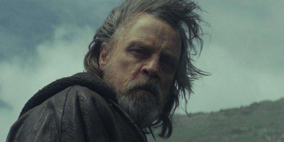 Luke in The Last Jedi