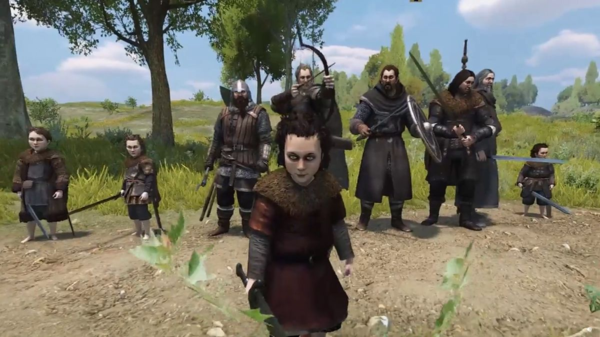 Someone reunited the Fellowship of the Ring in Mount & Blade 2: Bannerlord