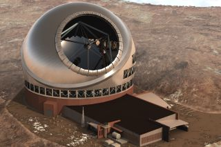 Thirty Meter Telescope Top View