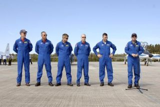 Atlantis Astronauts Put Safety First in Launch Training