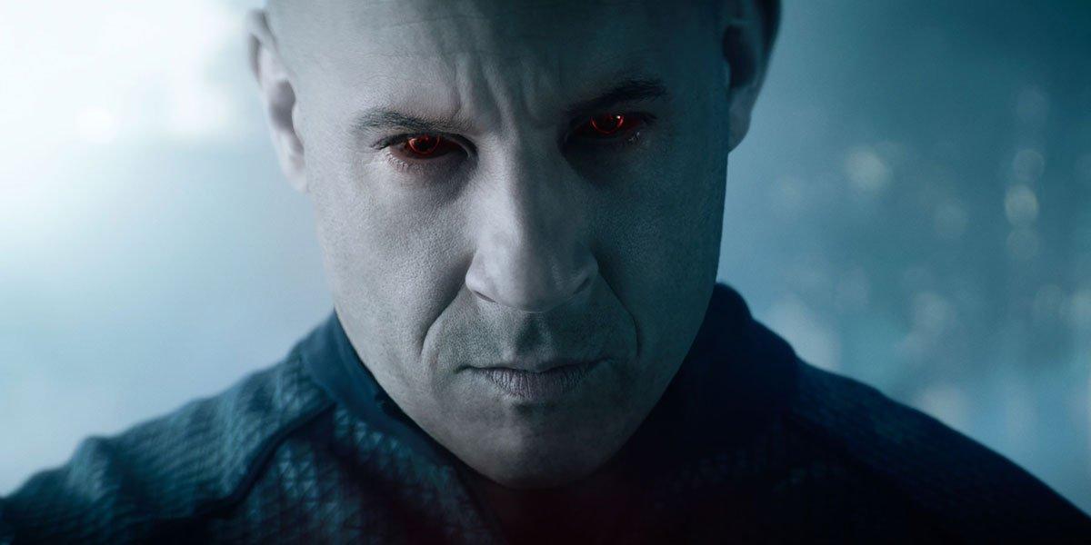 Vin Diesel in bloodshot 2020