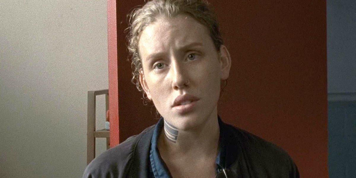 Lindsley Register as Laura on The Walking Dead AMC