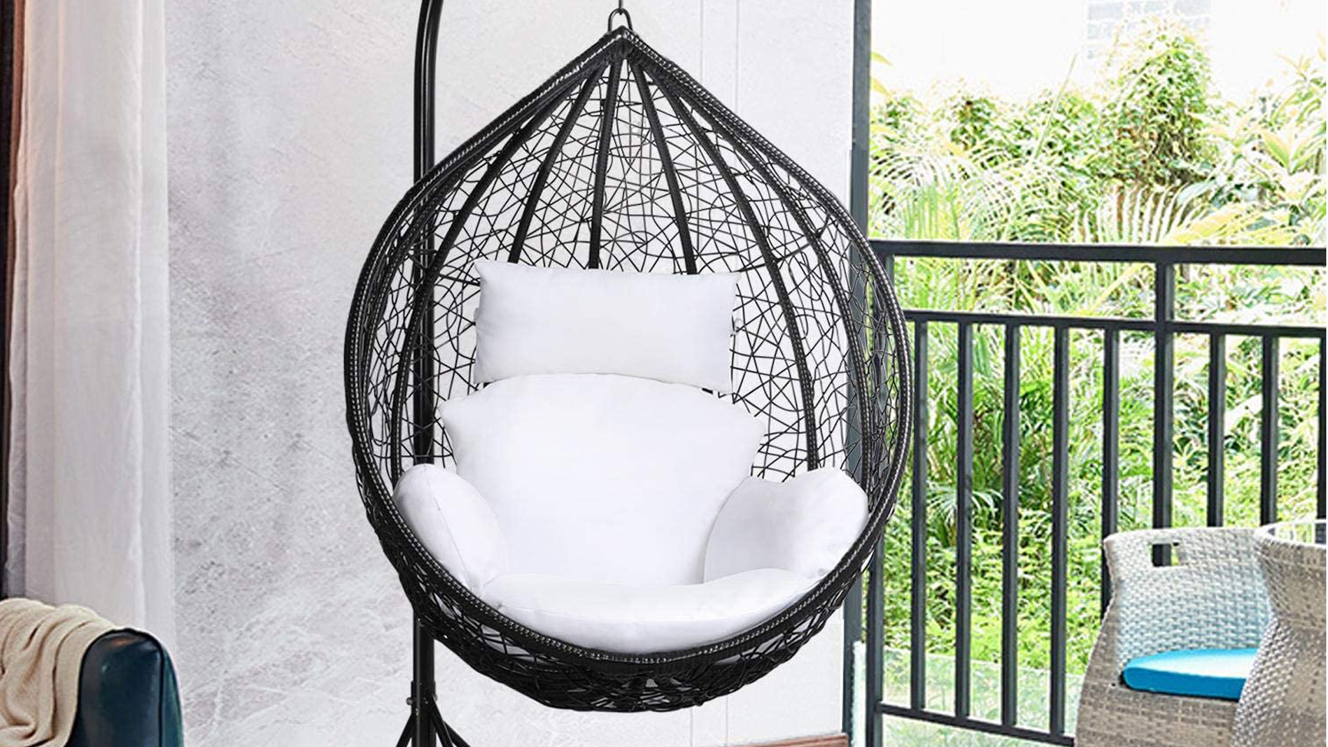 Best Hanging Chairs 5 Stylish Picks For Your Garden Real Homes