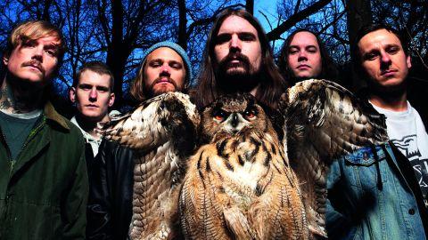 Kvelertak and a very big owl