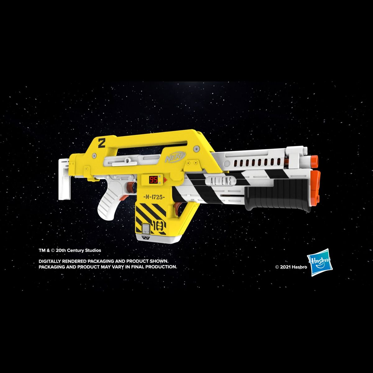 Hasbro has released an awesome new Nerf M41-A Blaster from the film 'Aliens'