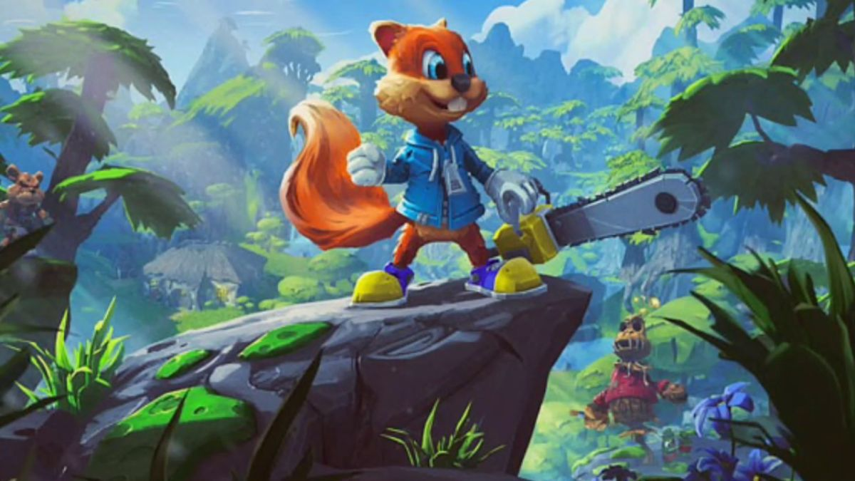 A Conker's Bad Fur Day designer tweeted details about the platformer's wildly raunchy canceled sequel