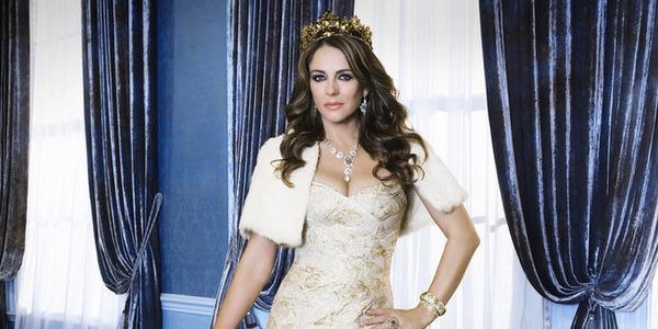 the royals e! elizabeth hurley