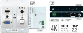 Key Digital Introduces VGA/HDMI Wall Plate Switcher and Extender Kit