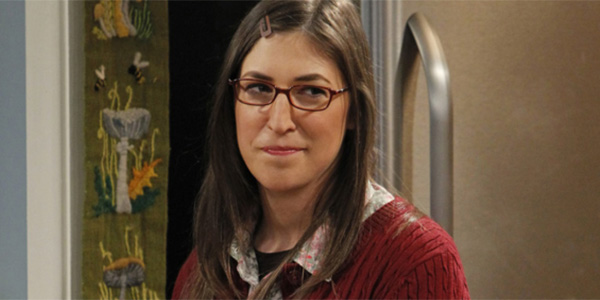 Mayim Bialik as Amy on The Big Bang Theory Season 12