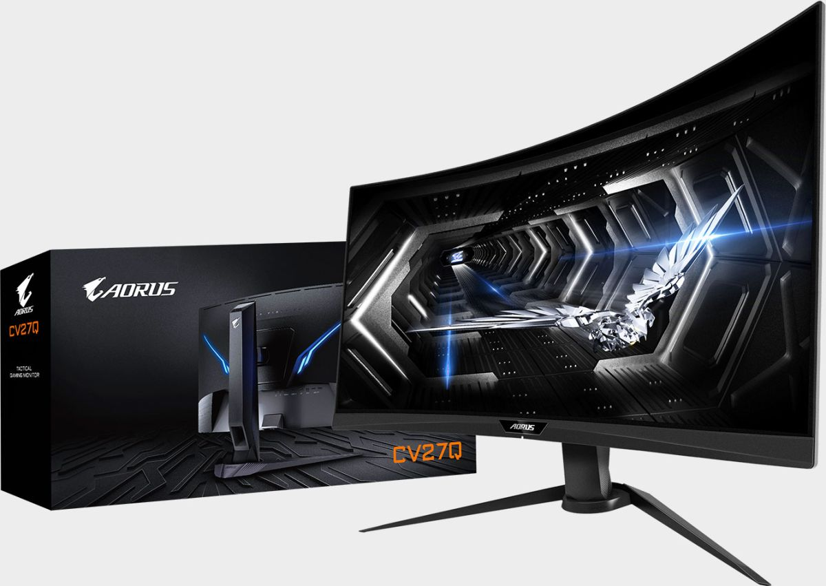 Gigabyte launches a 27-inch 'tactical' FreeSync 2 HDR gaming monitor for $459