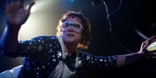 Taron Egerton in Rocketman as Elton John