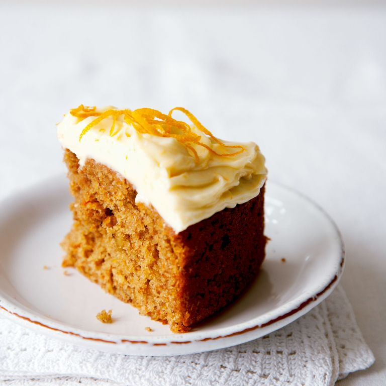 Carrot Cake with Orange Cream Cheese Frosting recipe-recipe ideas-new recipes-woman and home