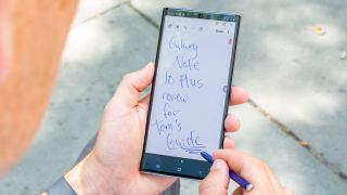 Galaxy Note 10 Plus S Pen notes