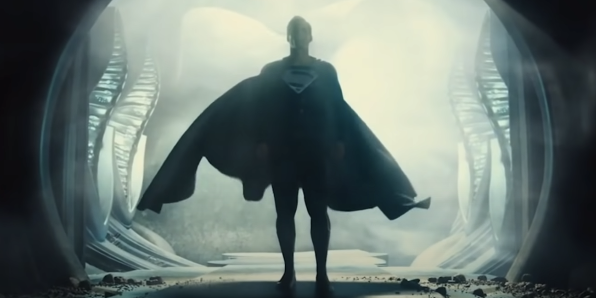 Henry Cavill is Superman in the Snyder Cut