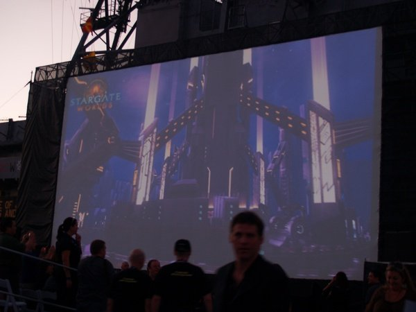 Comic Con: Aircraft Carrier Premiere Of Stargate Continuum #2877