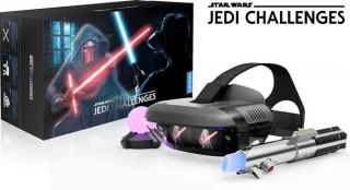 Feel the force and save £20 on the Lenovo Star Wars: Jedi Challenges AR Bundle