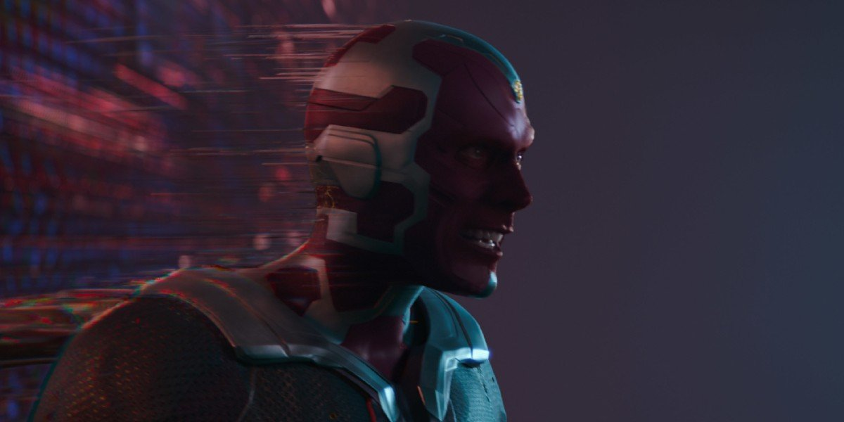 Vision (Paul Bettany) tries to leave the Hex on WandaVision (2021)