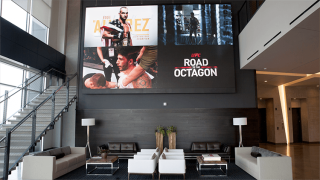 NanoLumens ENGAGE Series LED Display Installed at New UFC Corporate Campus