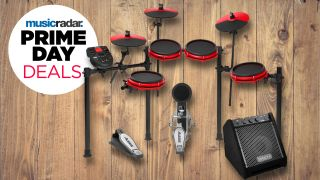 Big Prime Day discounts and big beats to be had with this Alesis Nitro Mesh electronic drum set deal