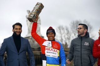 Tour de la Provence 2020 - 5th Edition - 4th stage Avignon - Aix-en-Provence 170,5 km - 16/02/2020 - Nairo Quintana (COL - Team Arkea Samsic) - photo Luca Bettini/BettiniPhoto©2020