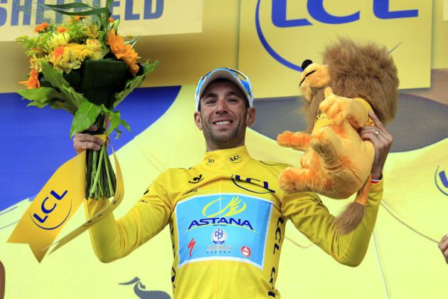 Vincenzo Nibali wins stage two of the 2014 Tour de France