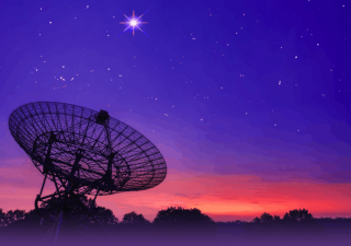 """Scientists detected the radio """"colors"""" of a fast radio burst (FRB) for the first time ever."""