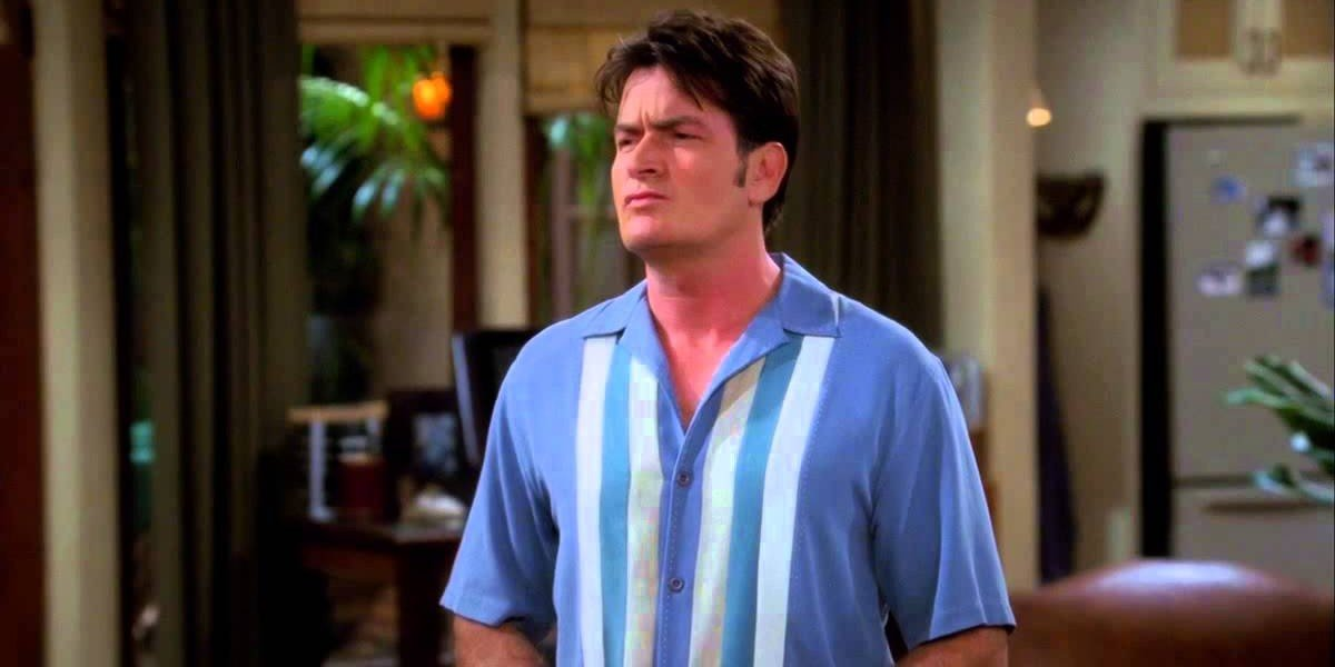 Charlie Sheen as Charlie Harper on Two and a Half Men