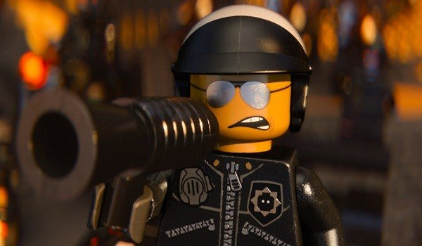 Liam Neeson as the voice of Good Cop/Bad Cop in The LEGO Movie