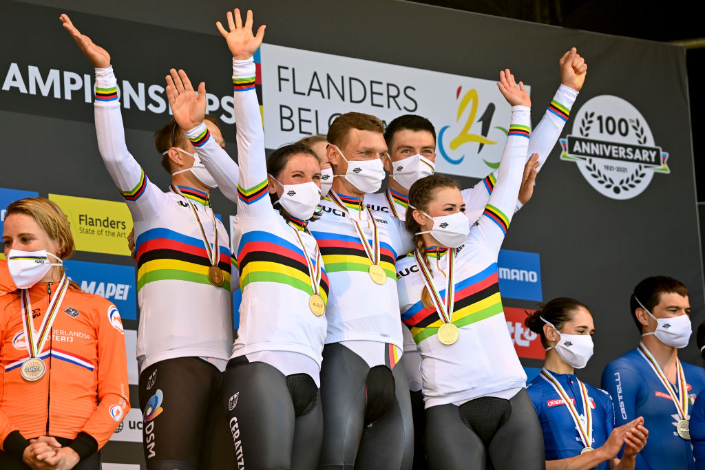 UCI Road World Championships team time trial mixed relay