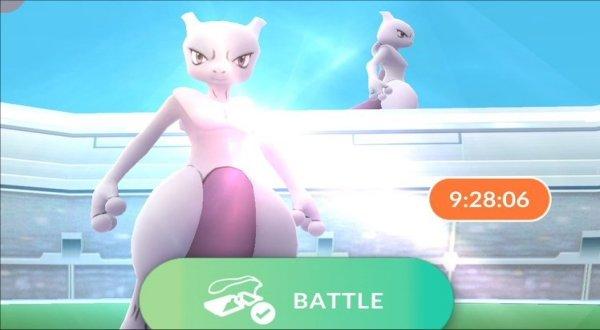 Pokemon Go Mewtwo Event