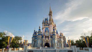 50th Anniversary Cinderella's Castle at Magic Kingdom
