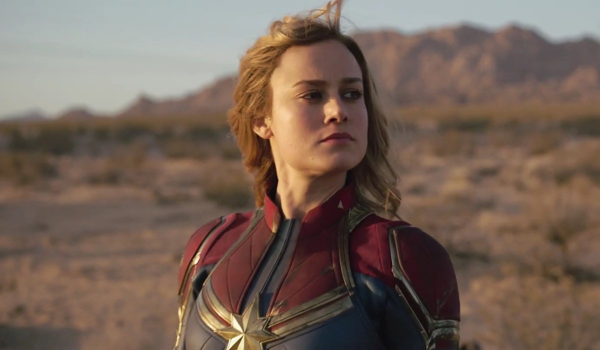 Brie Larson as Captain Marvel in Marvel film