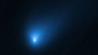 NASA's Hubble Space Telescope captured this view of the interstellar object Comet 2I/Borisov on Oct. 12, 2019.